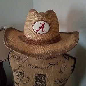 Nike straw Alabama hat